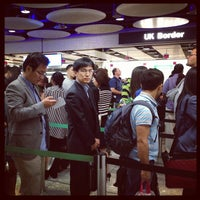 Photo taken at Security/Passport Control - T4 by 26893454 on 9/14/2012