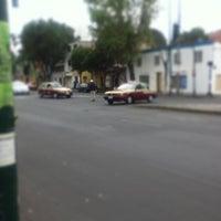 Photo taken at Calzada México-Tacuba by Manolo B. on 8/22/2013