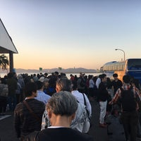 Photo taken at Ieura Port Ferry Terminal by Jeehyun Y. on 10/24/2016
