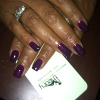 Photo taken at Theory Nail Lounge by Cabrini H. on 9/15/2013