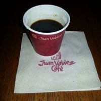 Photo taken at Juan Valdez Café by Javier C. on 12/15/2012