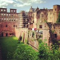 Photo taken at Heidelberger Schloss by Julie on 7/13/2013