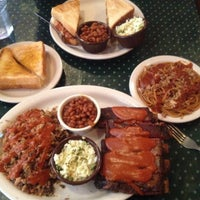 Photo taken at The Bar-B-Q Shop by Steve C. on 10/15/2012