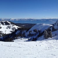 Photo taken at Alpine Meadows Ski Resort by Steve C. on 12/24/2012