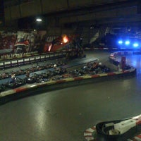 Photo taken at Indoor Karting Barcelona by Laura A. on 9/23/2012