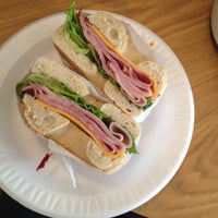 Photo taken at Sam's Bagels by Constanza M. on 4/12/2014