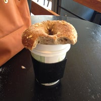 Photo taken at Roland Park Bagel Co. by Constanza M. on 7/26/2013