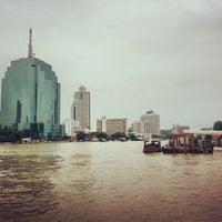 Photo taken at Khlong San Pier by Nannie N. on 9/19/2013