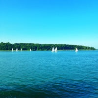 Photo taken at Chiemsee by Katya S. on 7/17/2013