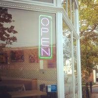 Photo taken at Zeke's Coffee (retail) by Eliot P. on 9/28/2012