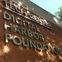 Photo taken at Digital Harbor Foundation Tech Center by Eliot P. on 8/23/2016
