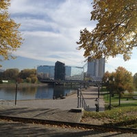 Photo taken at Victory Park by Veronica F. on 10/18/2012