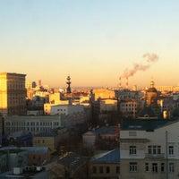 Photo taken at Радио «Спутник» by Ксюша Г. on 10/27/2012