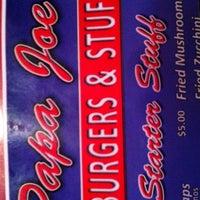 Photo taken at Papa Joe's Burger & Stuff by Eric B. on 12/27/2012