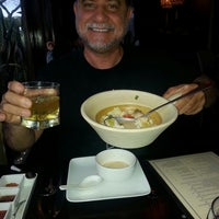Photo taken at Chedi Thai Bistro by San Diego Beer and Wine Tours L. on 6/17/2014