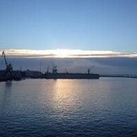Photo taken at tallinn shipyards by Юрец Б. on 10/30/2014