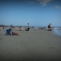 Photo taken at Wildwood Crest Beach by Trudy H. on 8/2/2013
