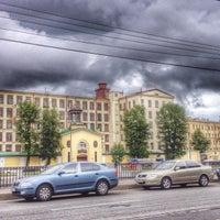 Photo taken at Российская бумагопрядильная мануфактура by Супер Г. on 6/19/2014