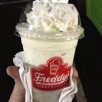 Photo taken at Freddy's Frozen Custard & Steakburgers by Robert S. on 10/20/2012