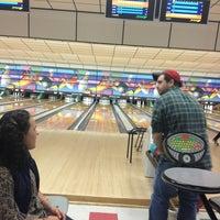 Photo taken at Buffaloe Lanes South Bowling Center by Daniel R. on 12/28/2012