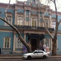 Photo taken at Одесский музей западно-восточного искусства / Odessa Museum of Western and Eastern Art by Alina P. on 11/18/2012