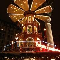 Photo taken at Leipziger Weihnachtsmarkt by Enrico B. on 12/9/2012
