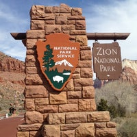 Photo taken at Zion National Park by Caroline H. on 3/5/2013