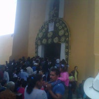 Photo taken at Capilla del Cerro de San Miguel by David D. on 9/30/2012