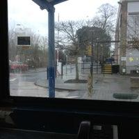 Photo taken at Parking Hut (Gipsy Lane Campus) by Peter H. on 3/16/2013