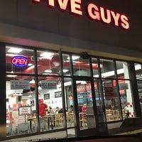 Photo taken at Five Guys by Joshua B. on 11/12/2017