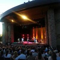 Photo taken at Sandy Amphitheatre by Tom C. on 6/8/2013