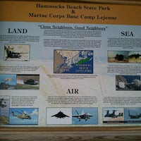 Photo taken at Hammocks Beach State Park by Debbie K. on 11/30/2013