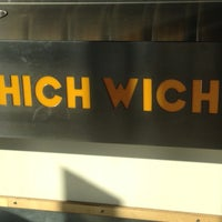 Photo taken at Which Wich? Superior Sandwiches by Don F. on 11/28/2012