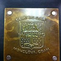 Photo taken at Club de Golf El Socorro by Aida L. on 7/17/2013