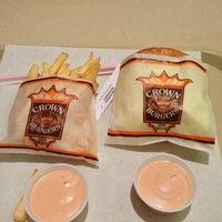 Photo taken at Crown Burger by Brad S. on 12/27/2012