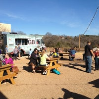 Photo taken at Clearfork Food Park by Carrie on 2/2/2013