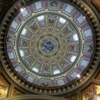 Photo taken at St. Stephen's Basilica by Oak on 10/25/2012