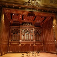 Photo taken at New England Conservatory's Jordan Hall by Rachel K. on 5/22/2017