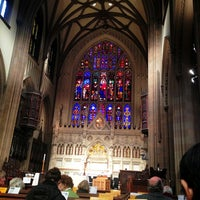 Photo taken at Trinity Church by Persio L. on 2/17/2013