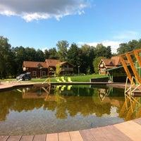Снимок сделан в Welna Eco Spa Resort пользователем Veronika C. 8/23/2014