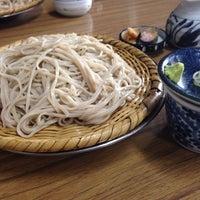 Photo taken at 戸隠 伊勢屋そば店 by Takeshi N. on 7/19/2014