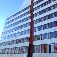 Photo taken at Ericsson Building 10 by Anastasia F. on 3/6/2013