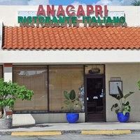 Photo taken at Anacapri Italian Restaurant by Miami New Times on 8/15/2014