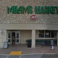 Photo taken at Milam's Market by Miami New Times on 7/25/2013