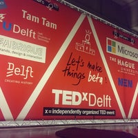Photo taken at TEDxDelft by Aleksandrs B. on 2/26/2015