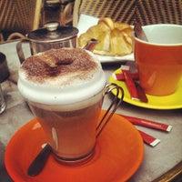 Photo taken at Café le Soufflot by Aleksandrs B. on 10/6/2013