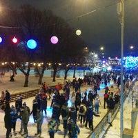 Photo taken at Каток ЦПКиО им. Горького by Mikhail R. on 2/27/2016