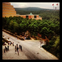Photo taken at Yeditepe University by Pelin G. on 10/16/2012