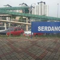 Photo taken at KTM Line - Serdang Station (KB05) by Sumi J. on 11/17/2012