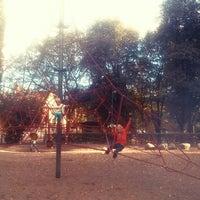 Photo taken at Tehtaanpuisto by Gia F. on 9/12/2013